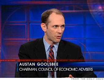 Goolsbee: `We're gonna grow'