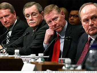The Big Three CEOs: No show of hands