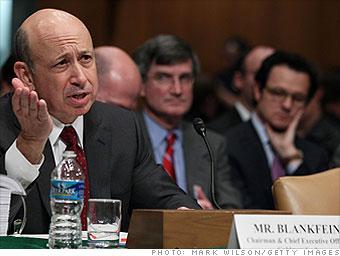 Blankfein, Goldman: 'They shouldn't care'
