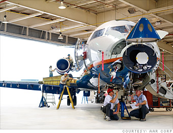 14 Ways to fine Aircraft Maintenance Jobs in Nigeria