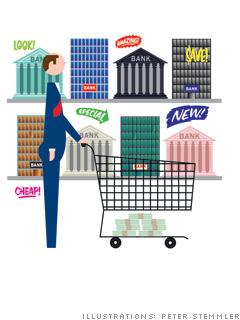 Shop for a no-fee checking account