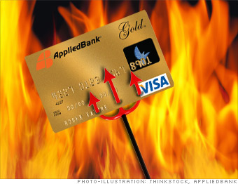 Applied Bank Unsecured Visa Gold Card