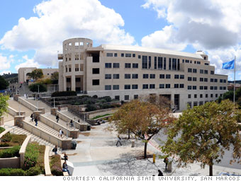 San Marcos College >> 5 Biggest State Tuition Hikes California 1 Cnnmoney