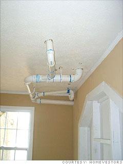 Ghastly plumbing