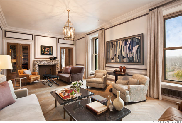 most luxurious living rooms manhattan s most expensive rental 165 000 a month 14259