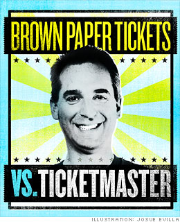 Brown Paper Tickets vs. Ticketmaster