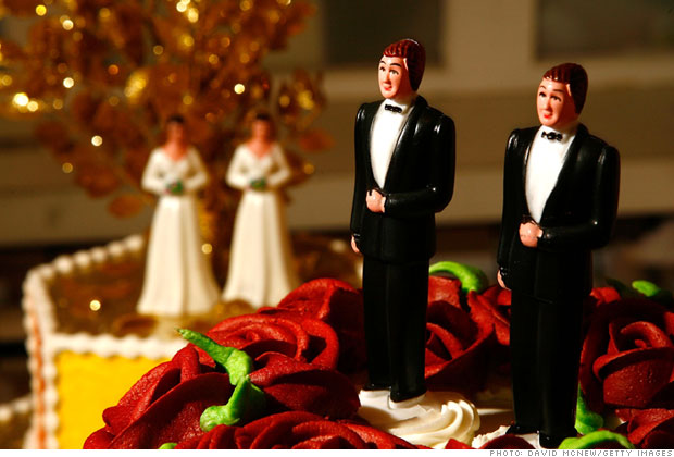 A gay wedding industry grows in NY