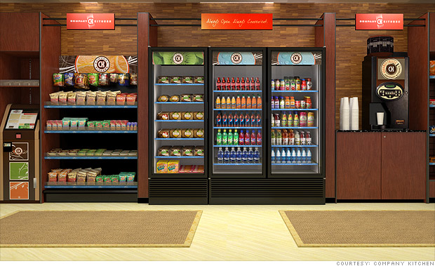Vending machines reinvented