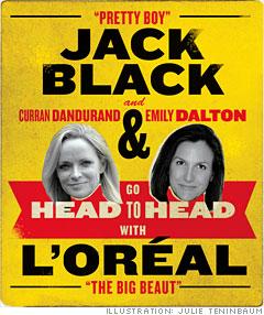 Jack Black vs. L'oréal
