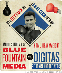 Blue Fountain Media vs. Digitas