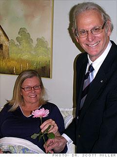Sarah Baldwin, 55, and Jack Weissman, 63