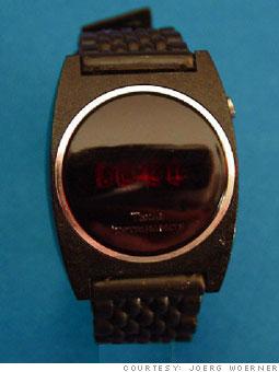 1976:  Cheap digital watches