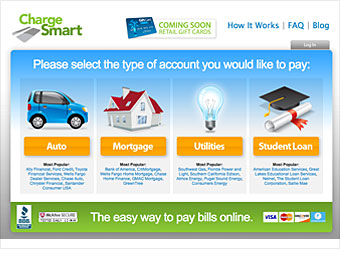 Pay your bills with gift cards