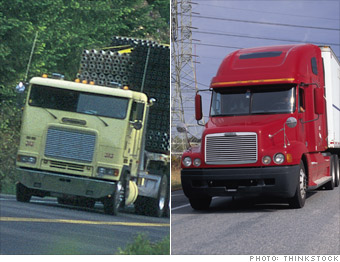 The aerodynamic truck
