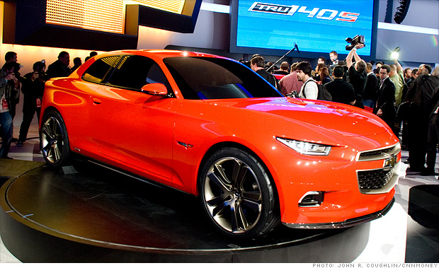cool cars from the detroit auto show - chevrolet code 130r  7