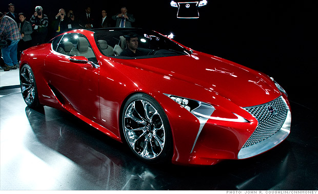 Cool Cars From The Detroit Auto Show Lexus Lf Lc 3
