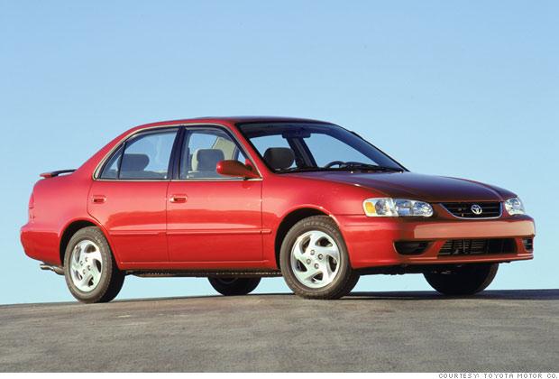 3 2002 Toyota Corolla
