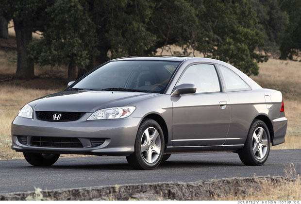 Best Used Cars For Under 8 000 1 2004 Honda Civic 1 Cnnmoney