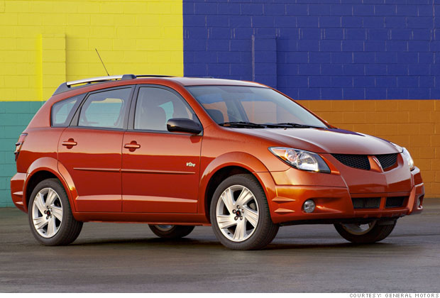 Best Used Cars For Under 8 000 4 2004 Pontiac Vibe 4
