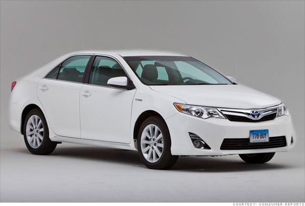 Family Sedan: Toyota Camry Hybrid