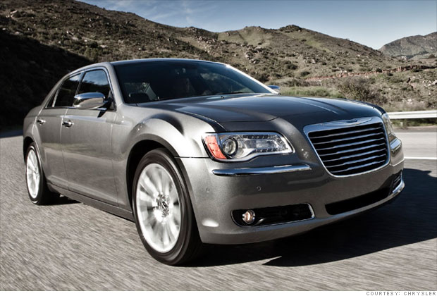 Large Car Chrysler 300 Limited