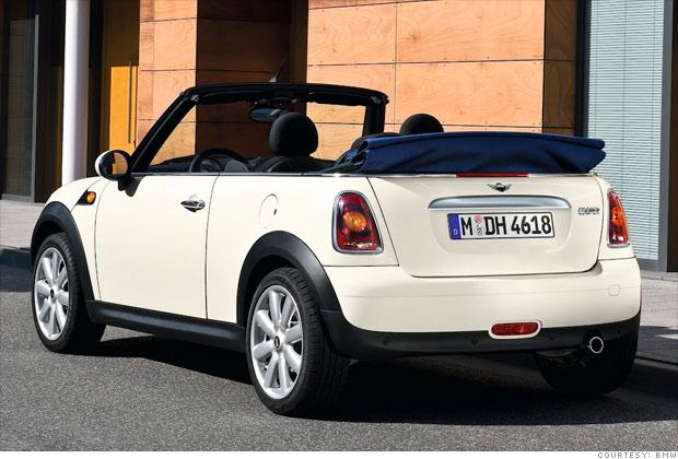8 great fuel efficient cars convertible mini cooper 6. Black Bedroom Furniture Sets. Home Design Ideas
