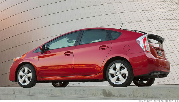 8 great fuel-efficient cars - Overall champ: Toyota Prius ...