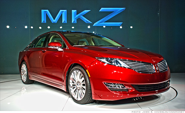 Cool Cars From The New York Auto Show Lincoln Mkz 4 Cnnmoney