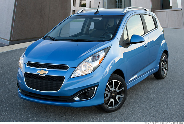 Mini Car Chevrolet Spark