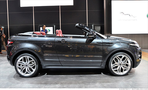 Range Rover Evoque Convertible >> 13 cool cars from the Geneva Motor Show - Range Rover ...