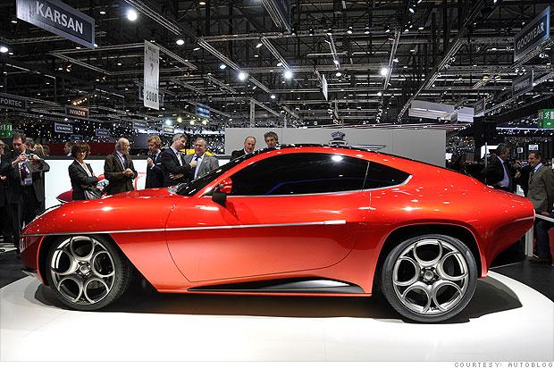 13 Cool Cars From The Geneva Motor Show Alfa Romeo Disco Volante
