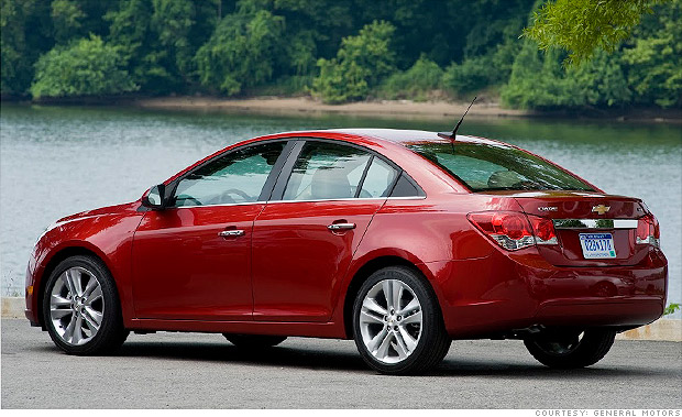 Chevy Cruze Lease >> 10 Best Spring Auto Lease Deals Chevrolet Cruze 4 Cnnmoney