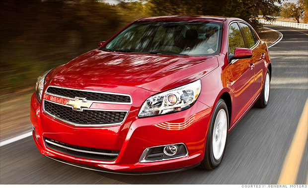 j d power top quality cars mid size car chevrolet malibu 19 cnnmoney. Black Bedroom Furniture Sets. Home Design Ideas