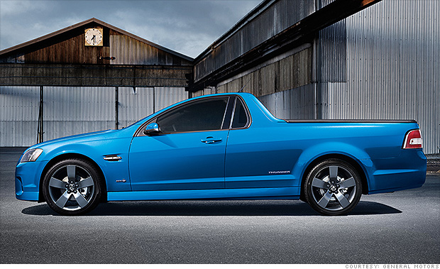 5 Funky Cars We Can T Get In The U S Holden Ute Ss 1