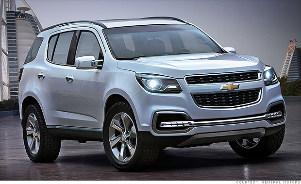 5 Funky Cars We Cant Get In The Us Chevrolet Trailblazer 3