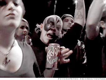 The fans: Juggalos