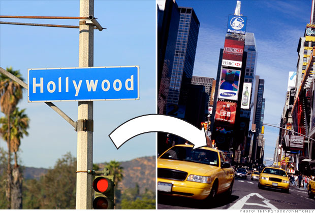 Los Angeles to New York
