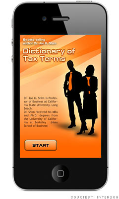 8 Tax Apps For Filers On The Go What Does All This Tax Jargon Mean 7 Cnnmoney