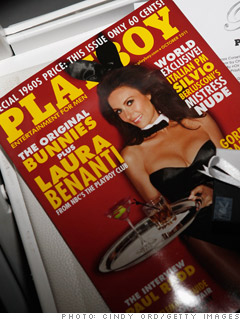 A Playboy subscription
