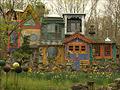 Artist creates unique habitat in Jersey woods