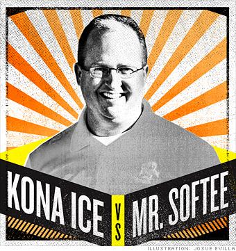 Kona Ice vs. Mr. Softee