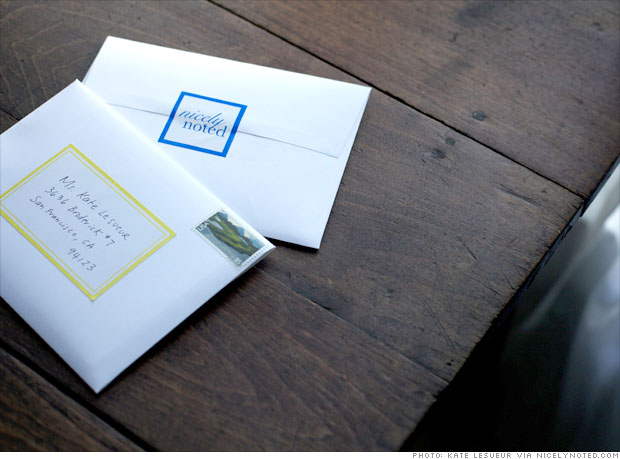 Stationery by subscription