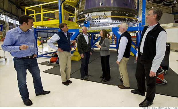 Jeff Bezos' (failed) spaceship