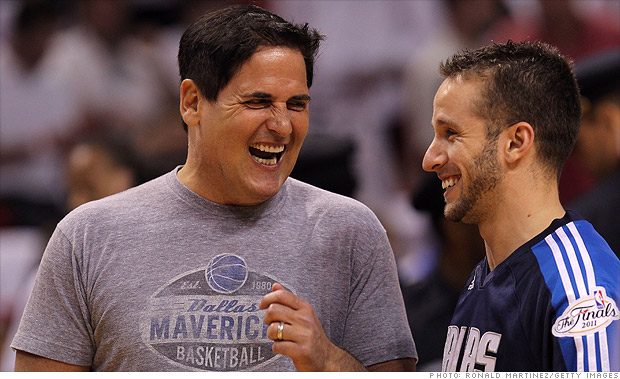 Mark Cuban and his record-setting jet