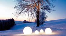 Great balls of light