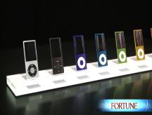 Apple's latest iPod crop