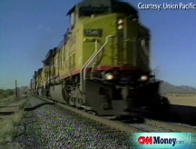 Union Pacific chugs ahead