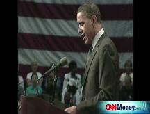 Obama switches on energy