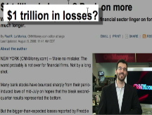 $1 trillion in bank losses