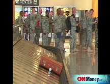 Airlines charge soldiers too